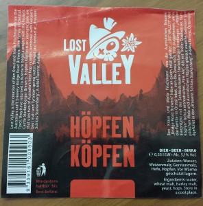 Das Etikett für das tirolerisch-australische Bier steht schon einmal.