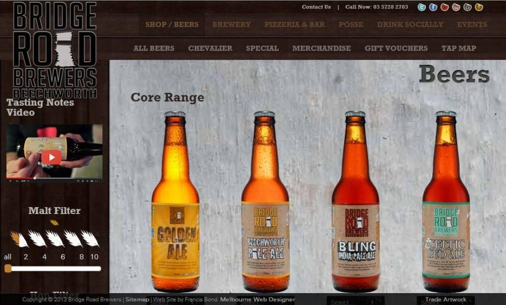 So sieht australisches Bier aus. Stylisch.