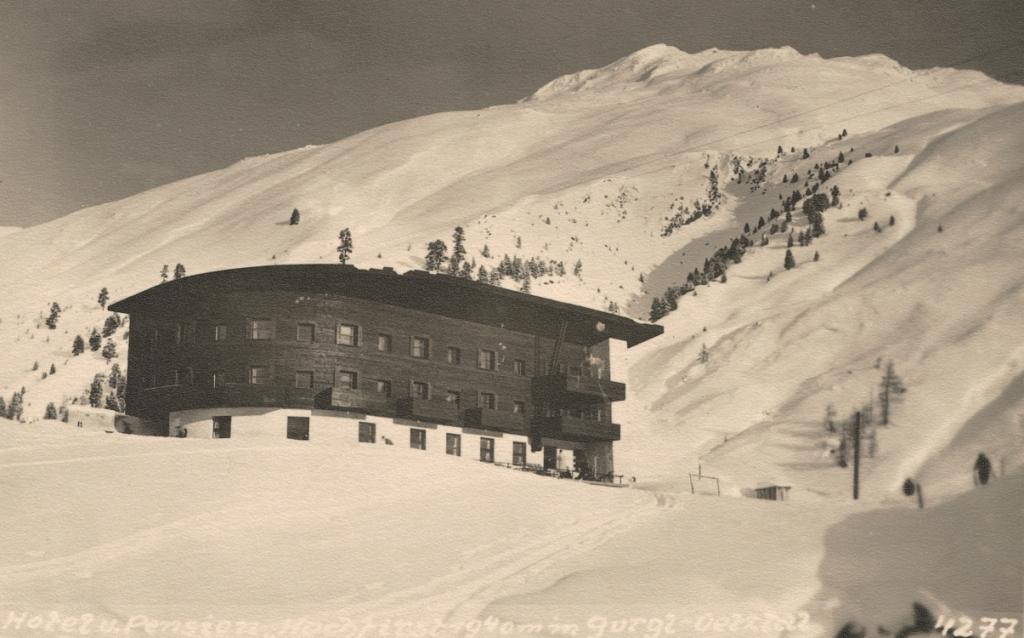 Das Hochfirst: So begann 1934 alles (Foto: Archiv Hotel Hochfirst)