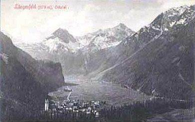Eine Ansicht von 1911. Zeiten in denen es noch echte Wolken gab.