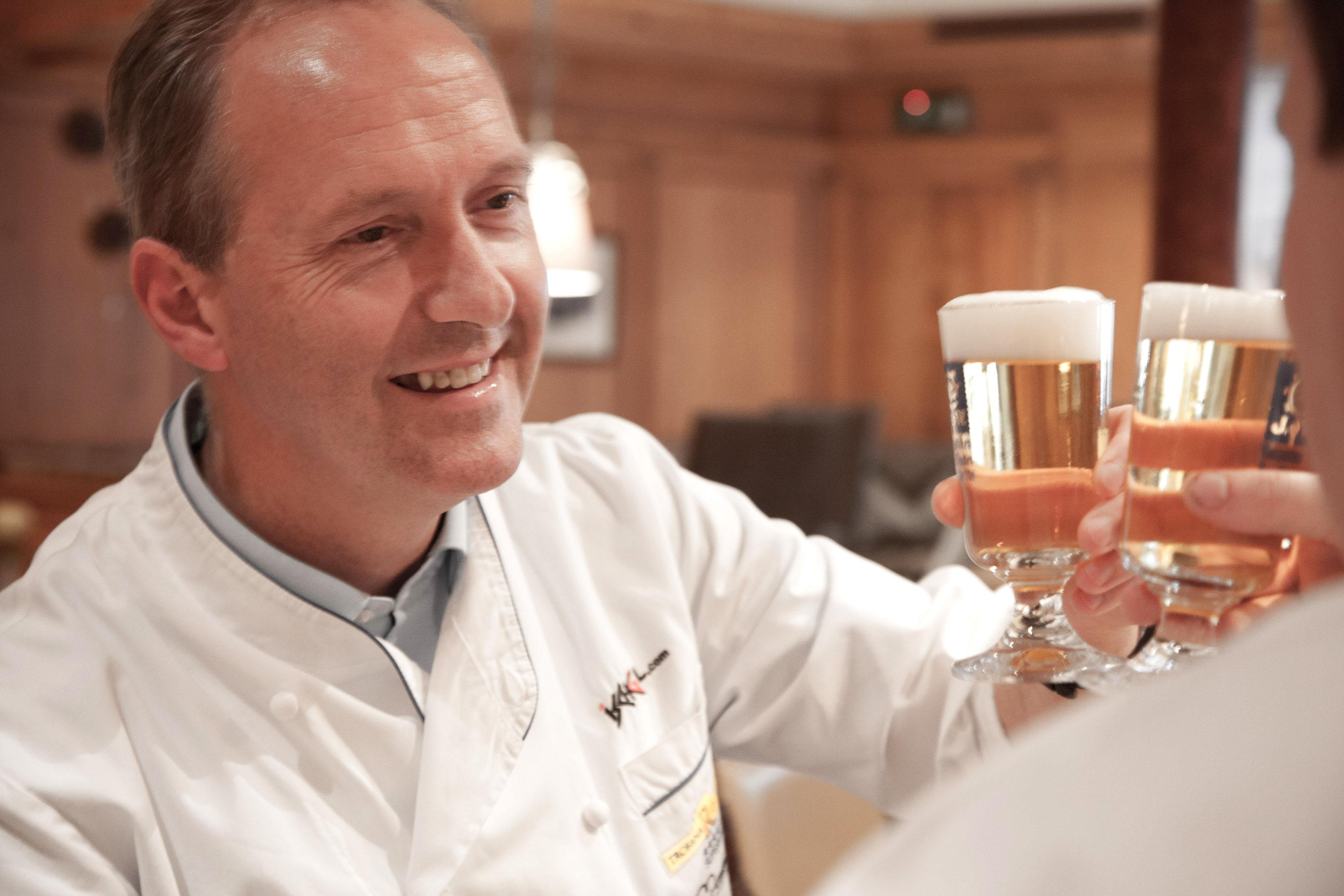 Patrick Raaß und Martin Sieberer: 2 Sterne mit 6 Hauben und zwei Bier am Gourmet Himmel!
