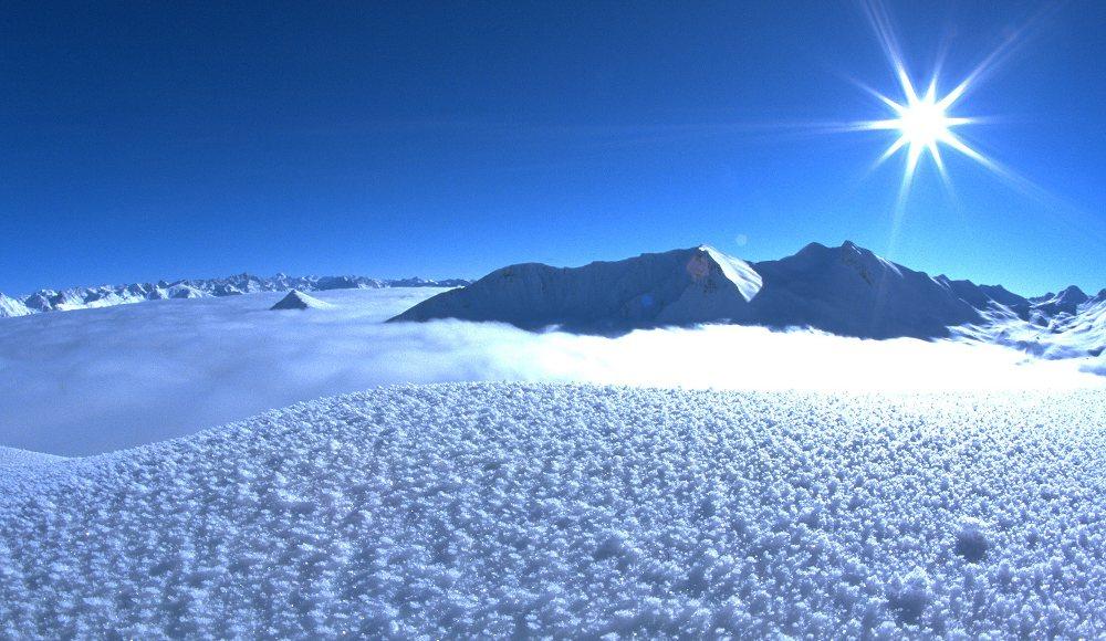 Ganz schön schön in Serfaus-Fiss-Ladis. Ob zum Skifahren oder zum Schneeschuhwandern bleibt jedem selbst überlassen.