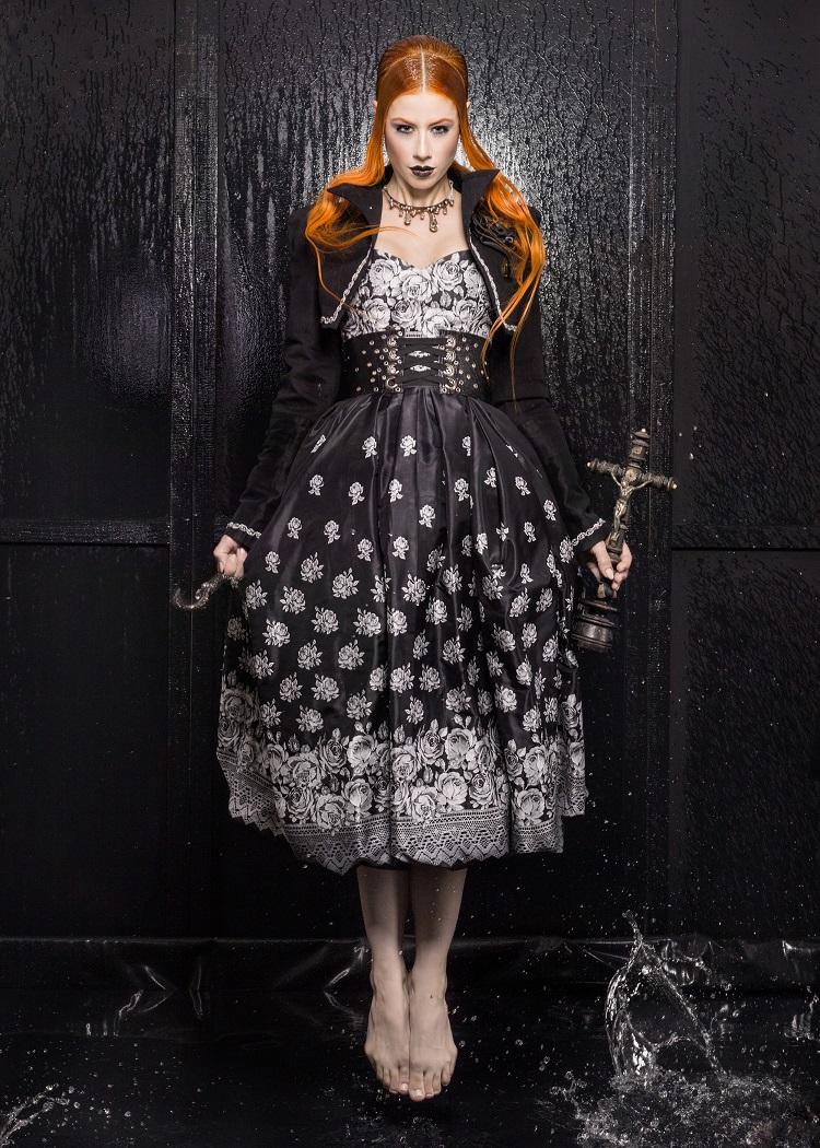 Mysteriös, dunkle, individuell: Die Mode von Markus Spatzier (Bild: