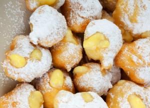 herbstlich süß - Profiteroles mit Maronifüllung