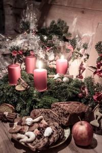 An den Adventsonntagen übten wir die Weihnachtslieder für den Heiligen Abend