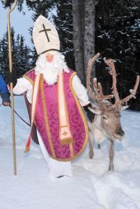 Manchmal kam der Nikolaus sogar persönlich bei uns daheim vorbei (Foto: ©Kitzbühel Tourismus)