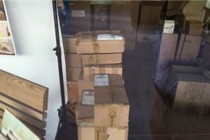 Ein sorgfältiges Verpacken ist aufwendig und verursacht beträchtliche Kosten