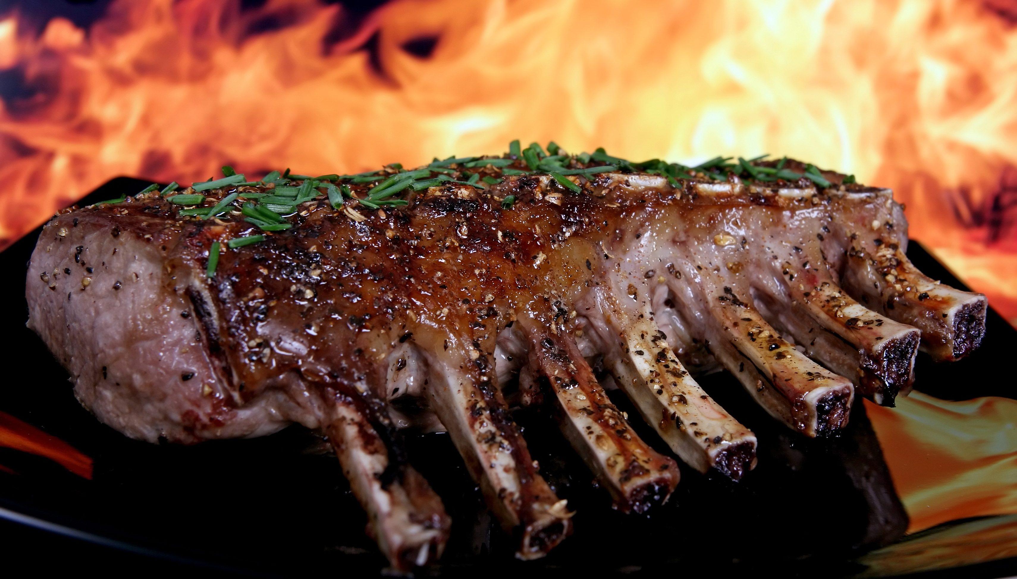 grill fleisch vom metzger