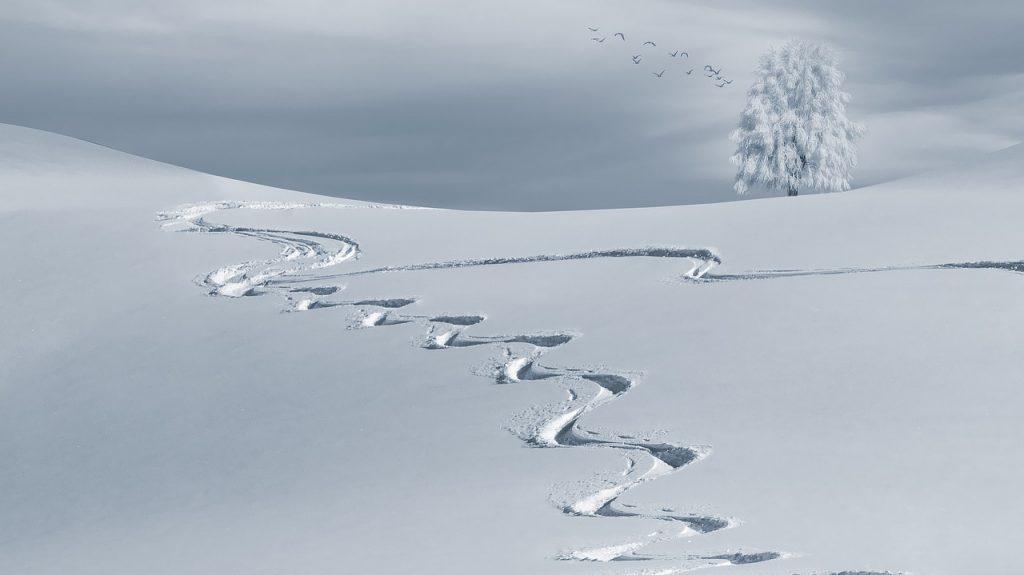 Winterfrische ist zum Beispiel, wenn man lieber ein paar Kurven mehr macht.