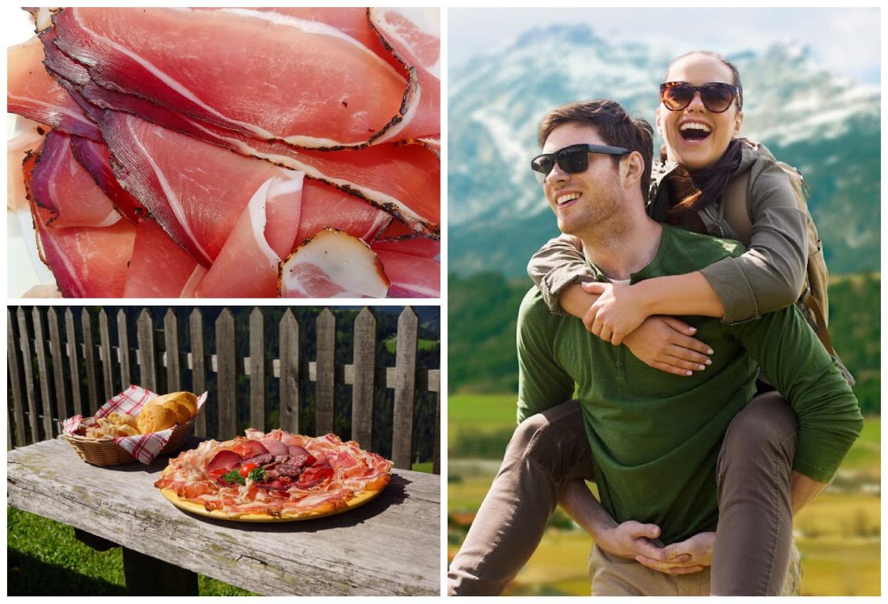 Schinkenspeck als eine Variante des Tiroler Specks ist zweifelsohne eine Delikatesse und gehört zu jeder Tiroler Jause dazu