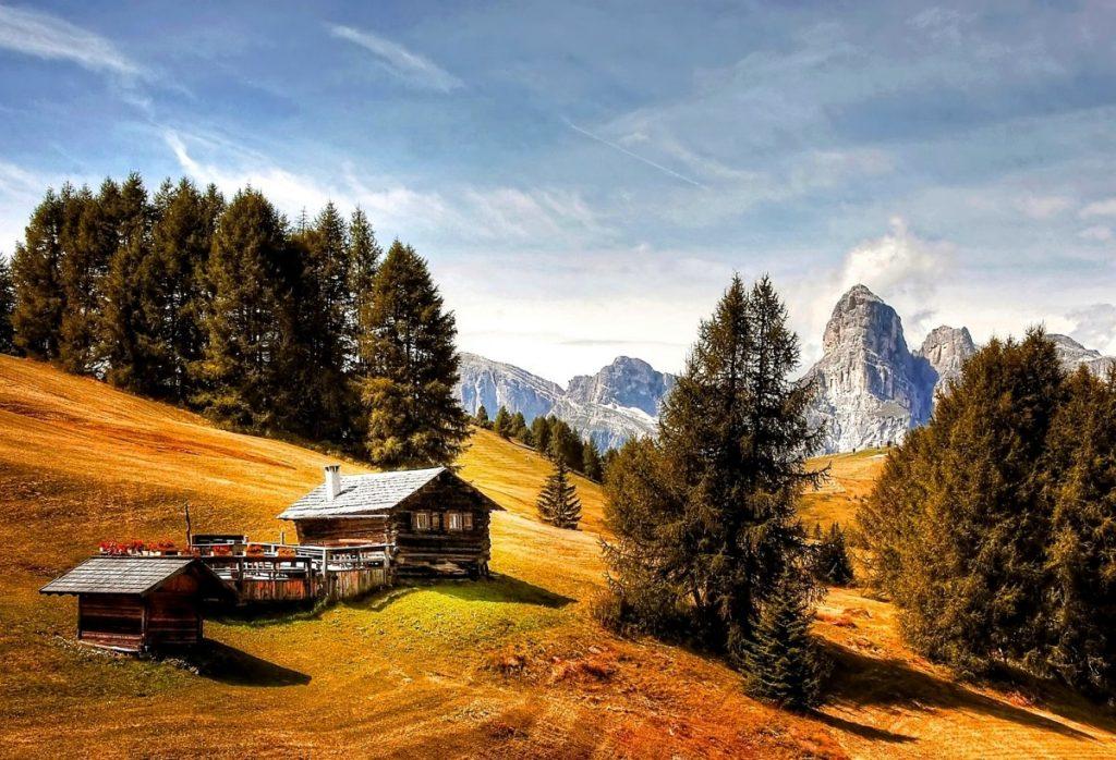 Flüssiggas garantiert die Energieversorgung auch auf Almen und Berghütten.