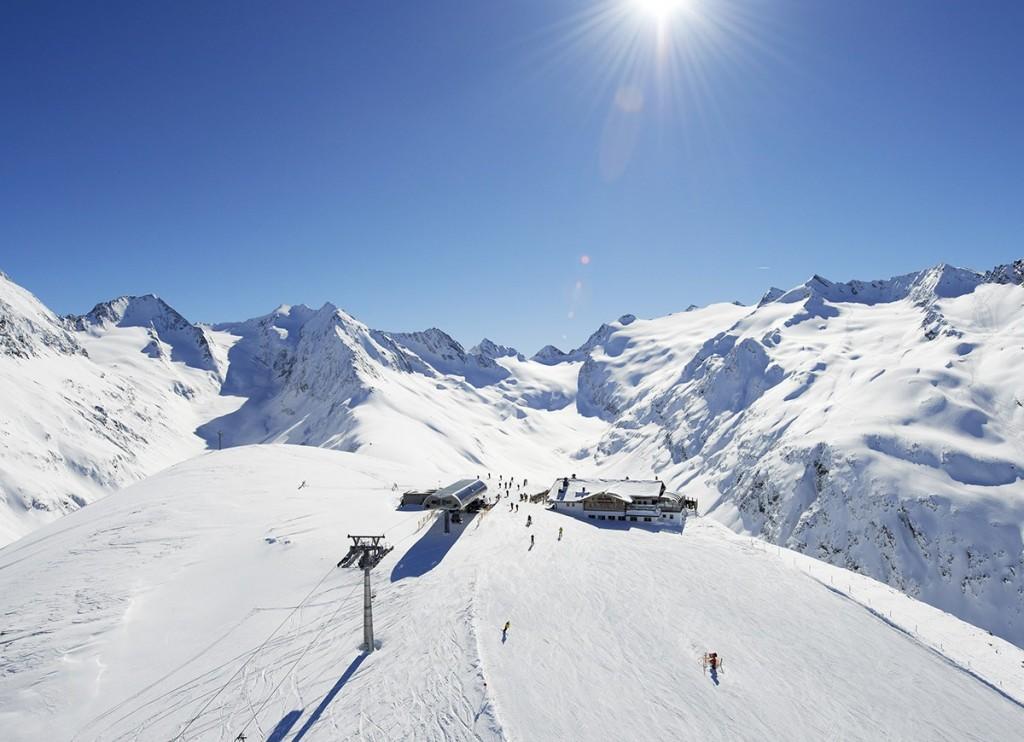 Natur und Sport. Erlebnis vom Feinsten. Skifahren in Obergurgl: Diamant der Alpen.