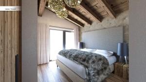 Komfortable Zimmer, um sich nach einem Tag im Skigebiet Obergurgl zu entspannen