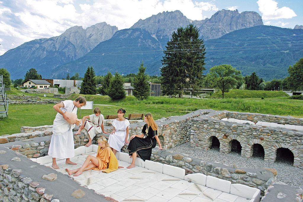 """In die frühe Geschichte eintauchen kann man in """"Aguntum"""". (C) Osttirol.com"""