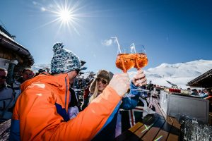 Apres ski is all about having fun. :)
