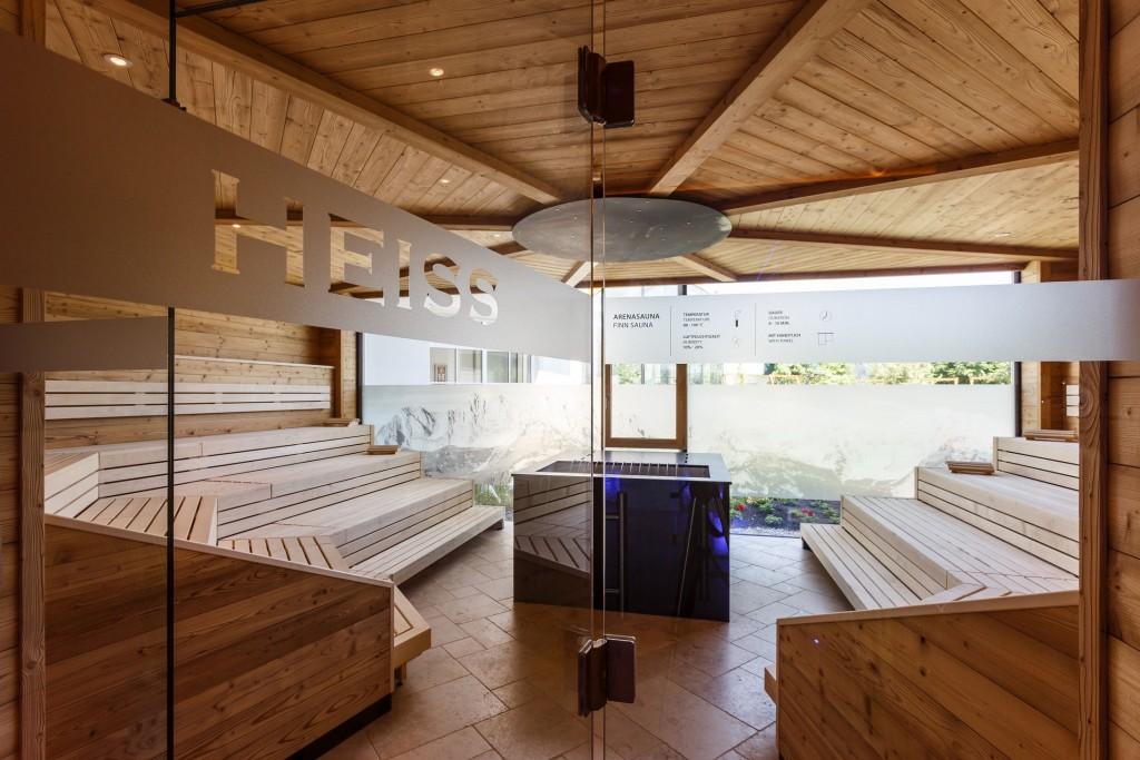 """Der Saunabereich im """"Peternhof"""": So geht Entspannung pur!"""