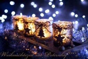 Vorweihnachtszeit in Tirol: die Magie des Peterhofs