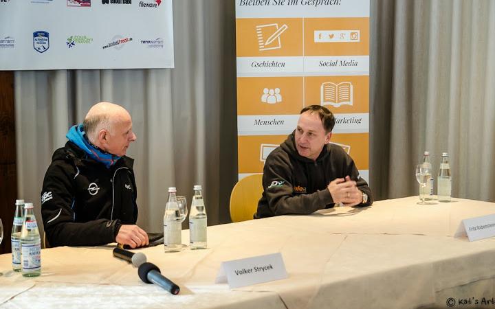 Pressekonferenz. © Katerina Fiser
