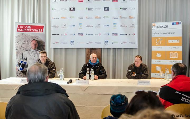 Pressekonferenz mit Thorsten Willems, Volker Strycek und Fritz Rabensteiner (v.l.n.r.) © Katerina Fiser