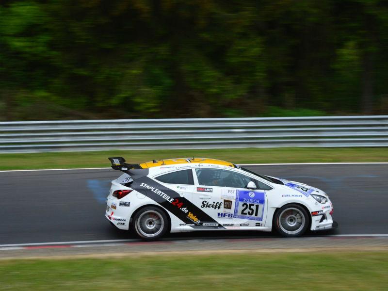 Der Opel Astra OPC Cup von WS Racing © Thorsten Willems